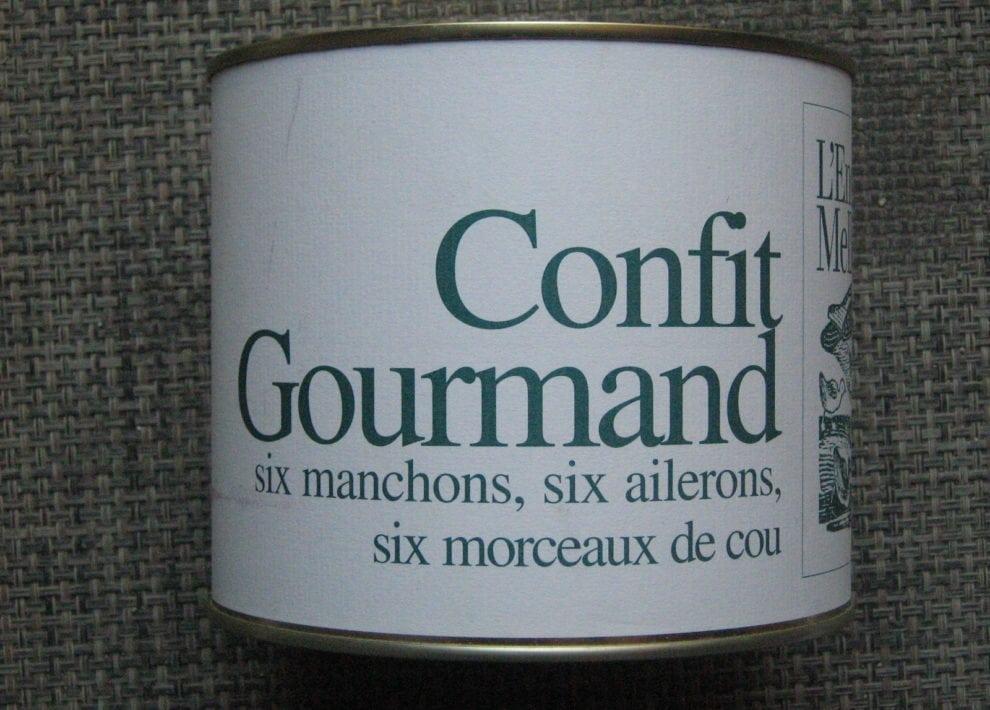 Confit gourmand
