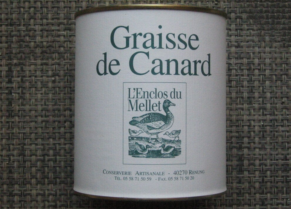 Graisse de canard (nature)